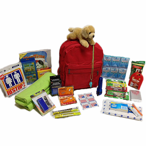 Kids 911 Survival Kit  (children 12 and younger)