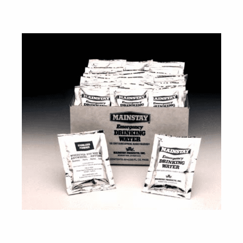 Mainstay Water Case of 60 packets