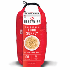 NEW- READYWISE 7 Day Emergency Food Supply Ready Grab Bag-60 Serving
