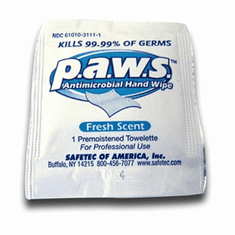 PAWS Anti-Bacterial Wipes