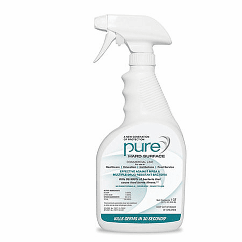 PURE Hard Surface Disinfectant, 32 oz.<br> (case  of 12)