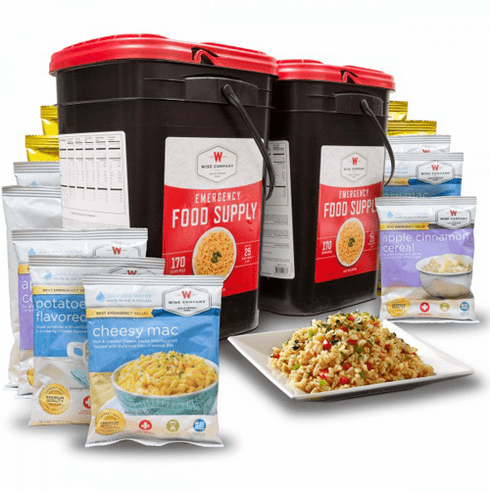 2-Month Emergency Food Kit Special Edition<br> Entree's-Breakfast-Deserts & Snacks<br>While Supplies Last