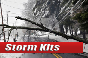 Severe Weather Survival<br> Supplies-Kits