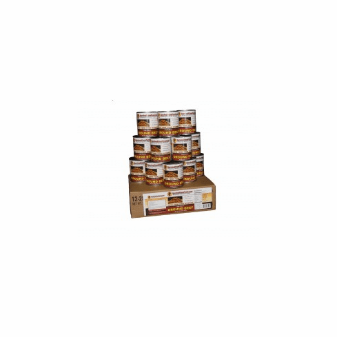 Survival Cave 12-28oz. MIXED Canned Meat Storage