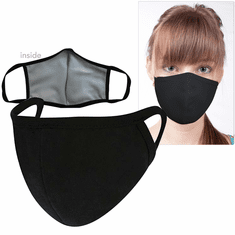 Washable Cotton/Poly Face Mask<br>4-Pack In Stock</b>