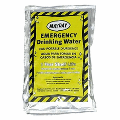 Mayday Water Pouch 4.225 oz. ea - Case of 100