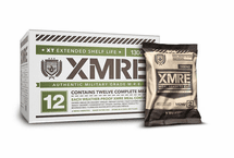 XMRE 1300XT Meal Kit, Case of 12 Meals w/Heater Military Grade