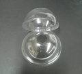 Clear Plastic Cup Lids - Dome with Hole 16oz 24oz
