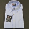 Dress Shirts - Button-Down Collar - Blue Dobby