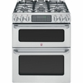 GE Cafe 30'' Freestanding Gas Range w/ Double Convection Oven