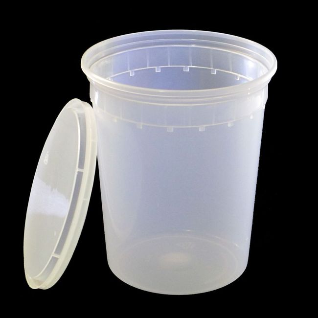 Super Heavy Duty 32oz Injection Moulded Deli Cups