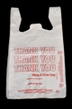T-Shirt Bags - White - Large