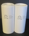 Kuki Collection Trash Can Liners 90-95 Gallon - Clear