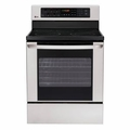 LG Electronics 30 in. Self-Cleaning Freestanding Electric Range in Sta