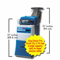 Rug Doctor 95330 Wide Track Quick Dry Professional