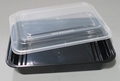 Square 28oz Microwavable Takeout Food Container