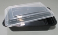 Square 24oz Microwavable Takeout Food Container