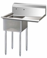 Turbo Air Stainless Steel Single Compartment Sink TSA-1-R1