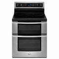 Whirlpool Gold 6.7 cu. ft. Double Oven Electric Range