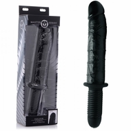 Masters Enormass Vibrating Dildo With Handle
