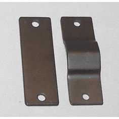 Replacement 2 - 2 Hole Plates<br> for Folding Kayak Roof Racks<br>PKKR-2-2Hole