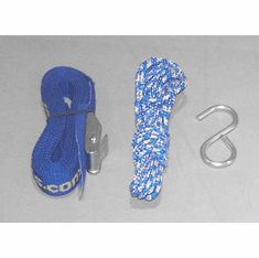 Replacement Strap, Hook <br>& Bow/Stern Tie-down Kit<br>PKKR-TieDown