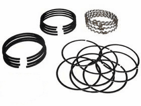 OMIX [ 941889 ] Ring set, piston .040 over size, L -134, 1945-53 Willys Jeep CJ-2A, CJ-3A