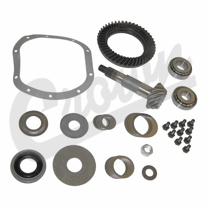 3.54 Ratio Ring & Pinion Set, fits 1976-86 Jeep CJ with Dana 30 Front Axle