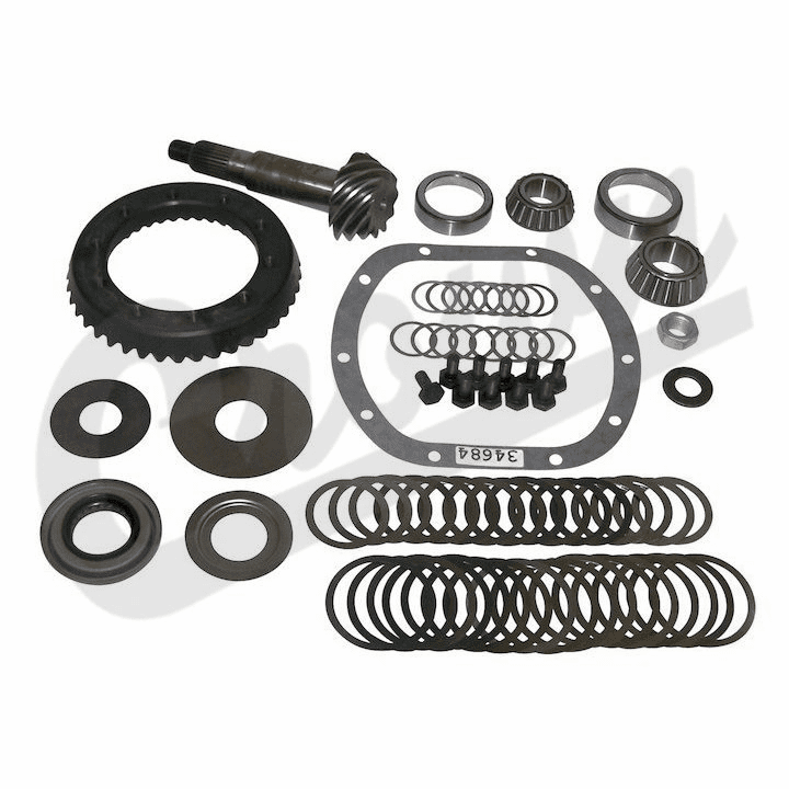 4.10 Ratio Ring & Pinion Set, fits 1977-86 Jeep CJ with Dana 30 Front Axle