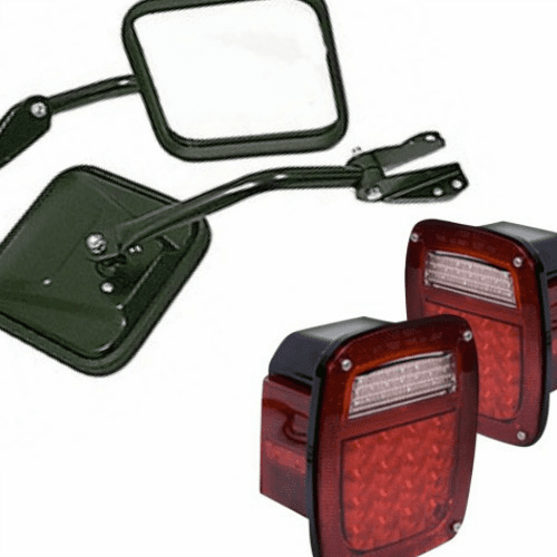 AMC Jeep CJ5 Lamps and Mirrors
