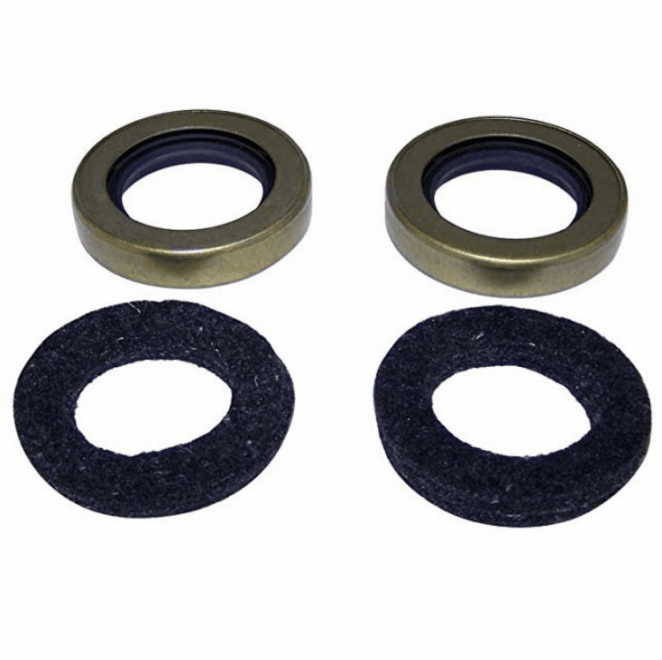 Crown [ 120751 ] Oil seal kit, output shaft.  2 seals, 2 felts , use with Dana Spicer 18 transfer case