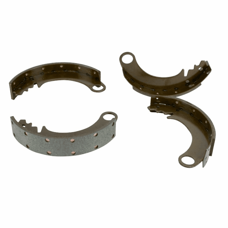 "Crown [ 642967 ] Brake Shoe Set for 9"" Brakes, anchor cam type, fits 1945-53 Willys Jeep CJ-2A, CJ-3A"
