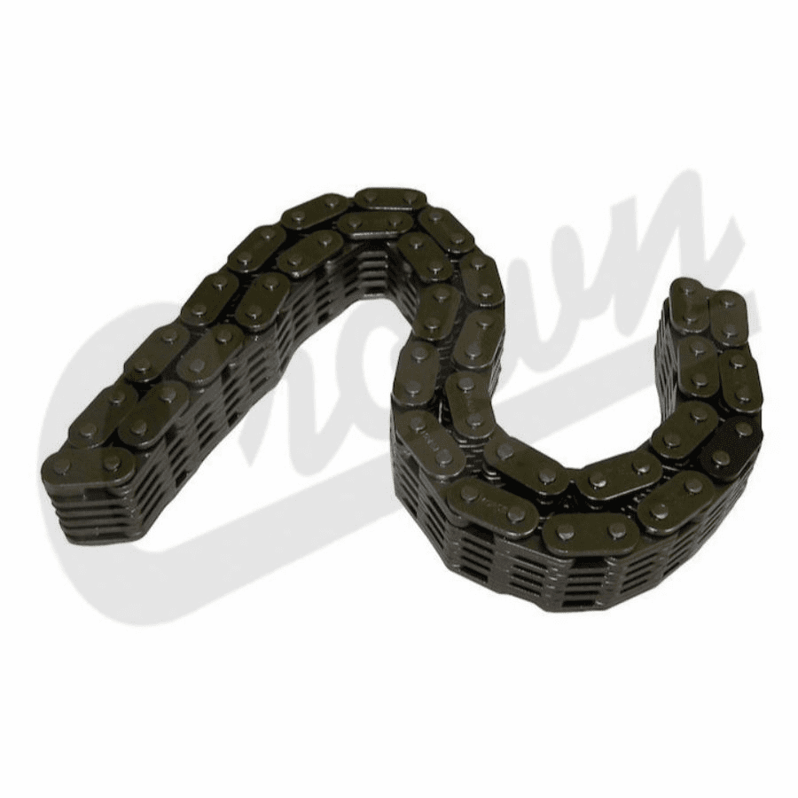 """Crown [ 8134343 ] Timing Chain Used with 5/8"""" .625"""" wide sprockets, AMC 304 Engine 1971-1981 Jeep CJ-5, CJ-7 Models"""