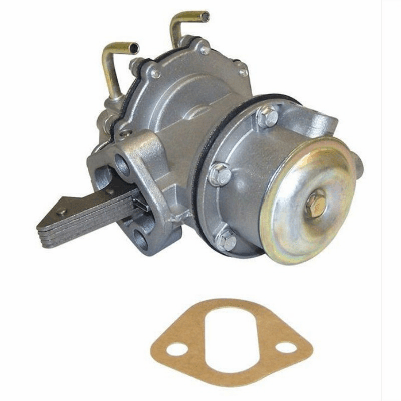 Crown [ J0120206 ] New fuel pump, fits 1953-71 Jeep 4 cyl-134 with vacuum wipers