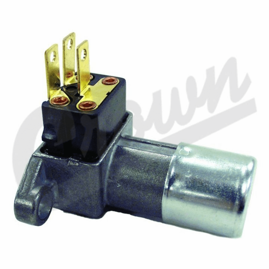 Crown [ J5461816 ] Headlamp dimmer switch, fits 1972-86 Jeep CJ-5, CJ-7 & CJ-8 with floor mounted dimmer switch