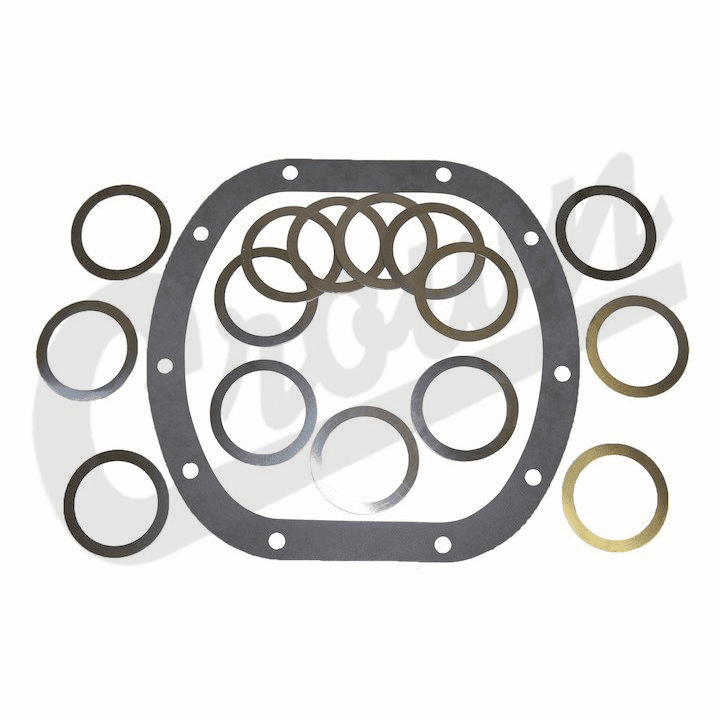 Differential Bearing Shim Kit, fits 1976-86 Jeep CJ with Dana 30 Front Axle