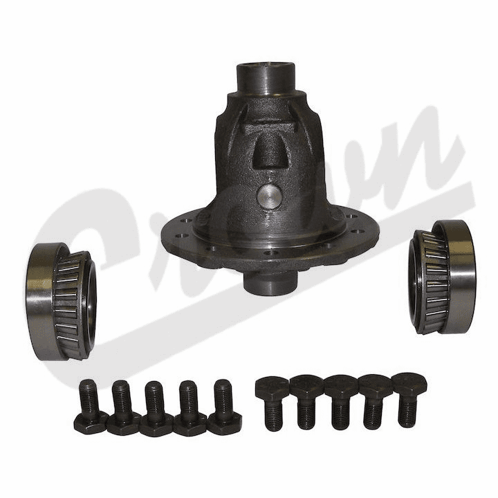 Differential Case Assembly with Gear Set, fits 1972-86 Jeep CJ with Dana 30 Front Axle.�For 3.73, 4.09 & 4.10 Gear Ratios