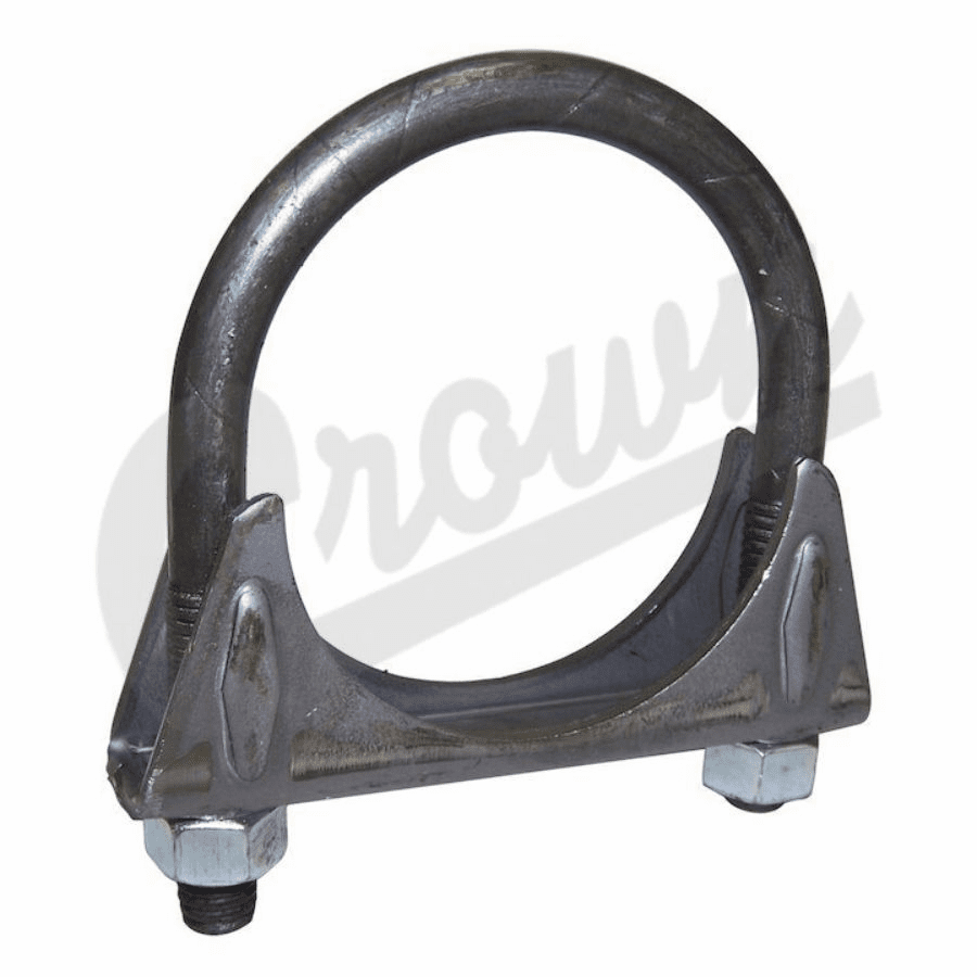 "Crown [ 83300061 ] Exhaust�clamp, 2.25"", 1972-86 Jeep CJ-5, CJ-7 & CJ-8 �������� �����������������������������������������������������������"