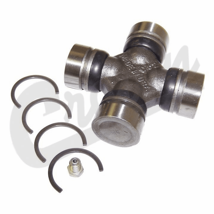 Front Axle 260X Series U-Joint Assembly, fits 1976-86 Jeep CJ with Dana 30 Front Axle