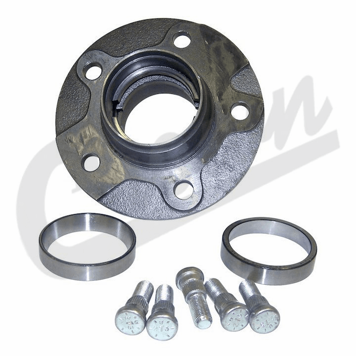 Front Hub Assembly, fits 1978-81 Jeep CJ with Dana 30 Front Axle w/ 6 Bolt Flange Mounting