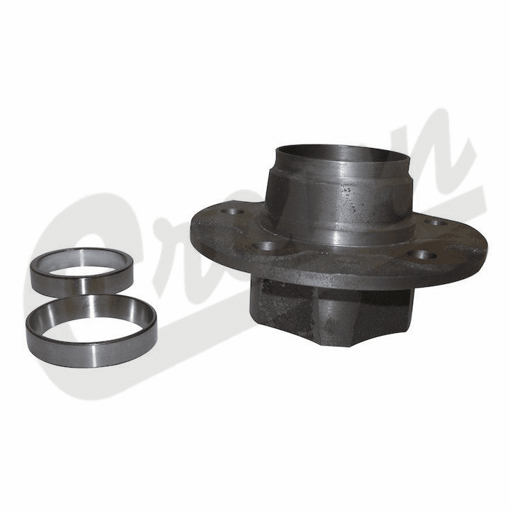 Front Hub Assembly, fits 1981-86 Jeep CJ with Dana 30 Front Axle w/ 5 Bolt Flange Mounting