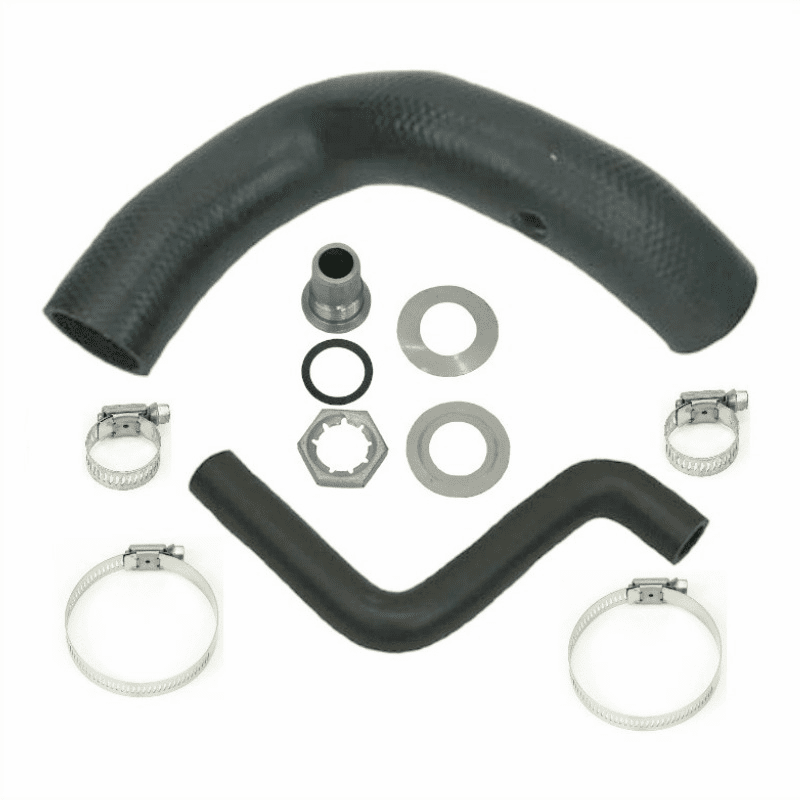 MTS [ CJFH-3K ] Fuel Filler & Vent Hose Kit for 1970-1975 Jeep CJ-5, CJ-6 with 15 Gallon Tank
