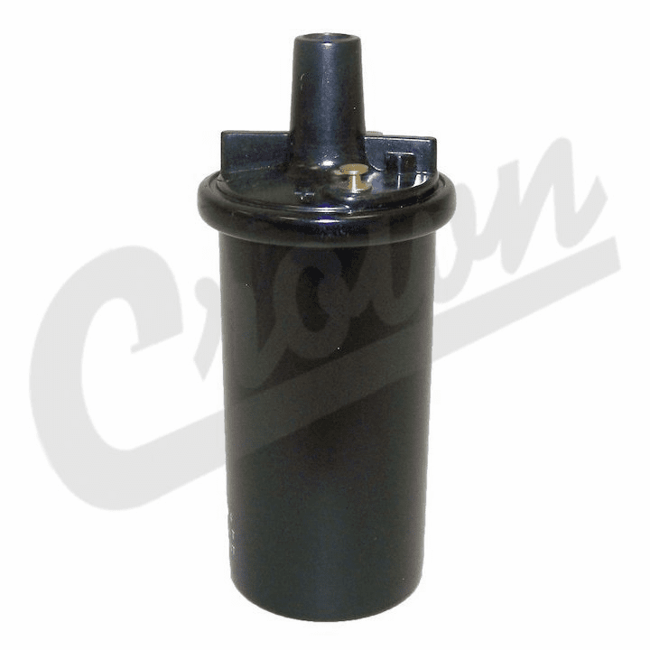 Ignition coil, fits 1978-86 Jeep CJ with carburated engines