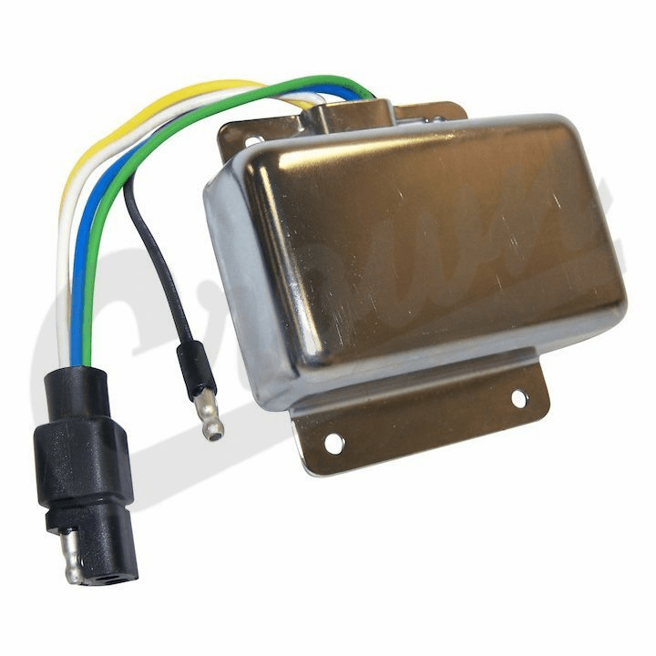 Ignition module, fits 1975-77 Jeep CJ-5 & CJ-7 with 6 or 8 cylinder with Prestolite ignition