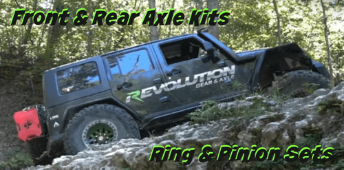 Revolution Gear & Axle for Jeep CJ and Wrangler