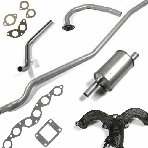 Jeep CJ6 Exhaust Parts