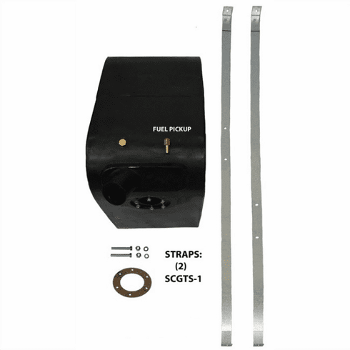 MTS [ 3012L ] Left Side Plastic Gas Tank for 1961-1971 International Scout 800 and late Scout 80