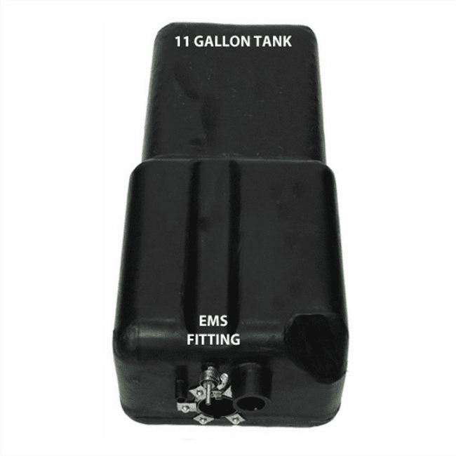 MTS [ 4240 ] 11 Gallon Plastic Gas Tank for 1971-1976 Bronco with EMS