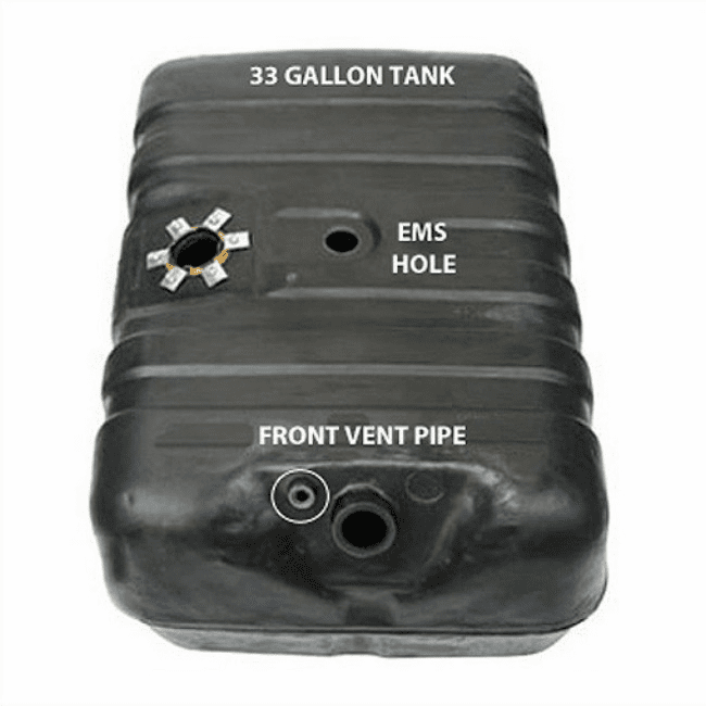 MTS [ 4251A  ] 33 Gallon Plastic Gas Tank with EMS hole for 1978-1979 Ford Bronco Full Size