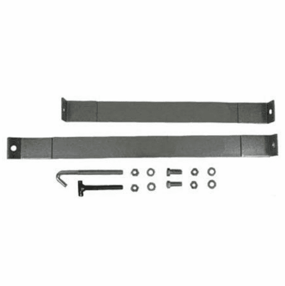 MTS [ FMGTSS-3 ] Gas Tank Straps for Plastic Tank, 1973-1979 Ford Pickup Side Mount